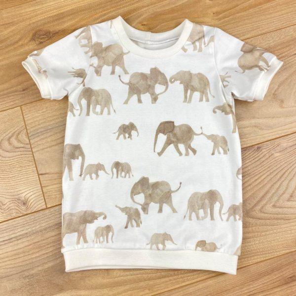 Petitloir tee shirt mec éléphants