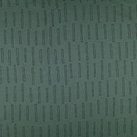 Barres fond vert (molleton léger)