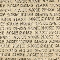 Make some noise fond crème (molleton léger)