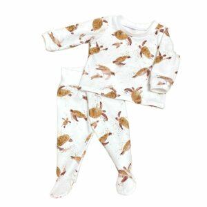 Pyjama bébé mixte à pieds