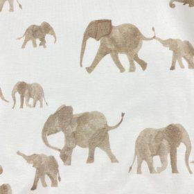 Éléphants fond blanc (jersey)