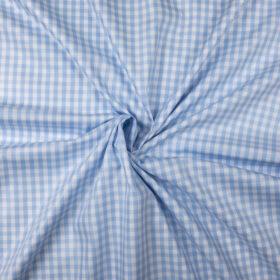 Vichy bleu ciel (coton)